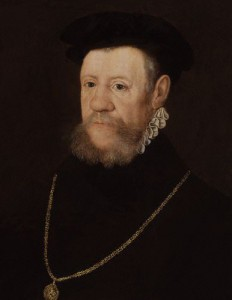The Earl of Arundel, the man who represented Mary I that night.