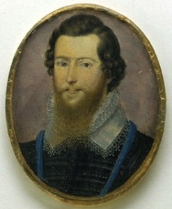 Robert Devereux by Isaac Oliver