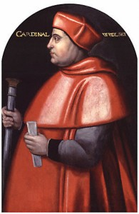Thomas Wolsey. Lord Chancellor