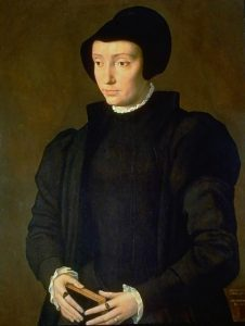 Portrait of a woman said to be Dorothea or her sister Christina.