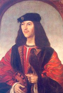 James IV, copy by Daniël Mijtens of lost contemporary portrait