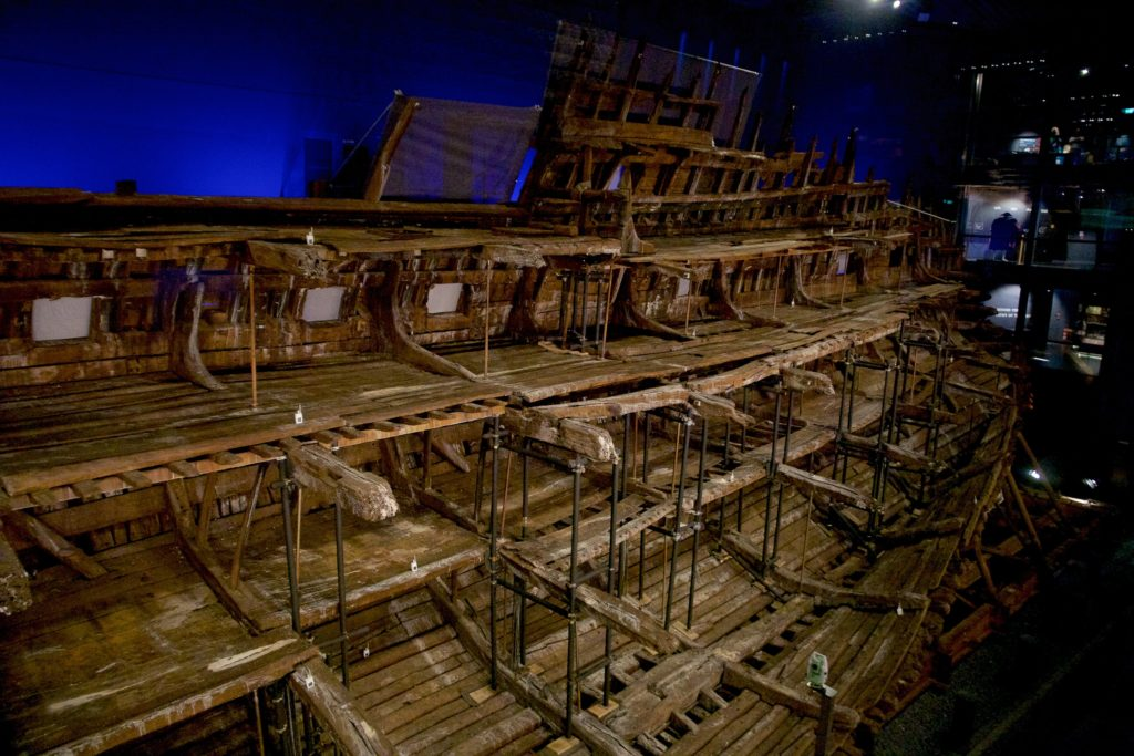 A view of the Mary Rose